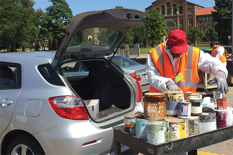 Finally Clear Out Your Old Paint Clutter! Free Denver Paint Recycling Event this Saturday, August 24 Sponsored by PaintCare | Denver Dweller